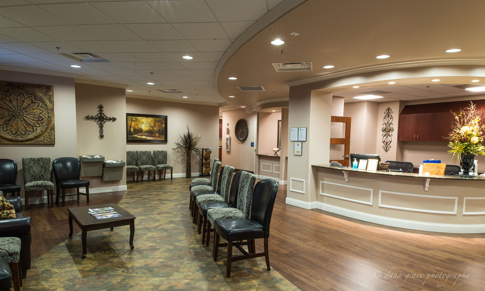 Patient Waiting Area in Aspen Brook Center