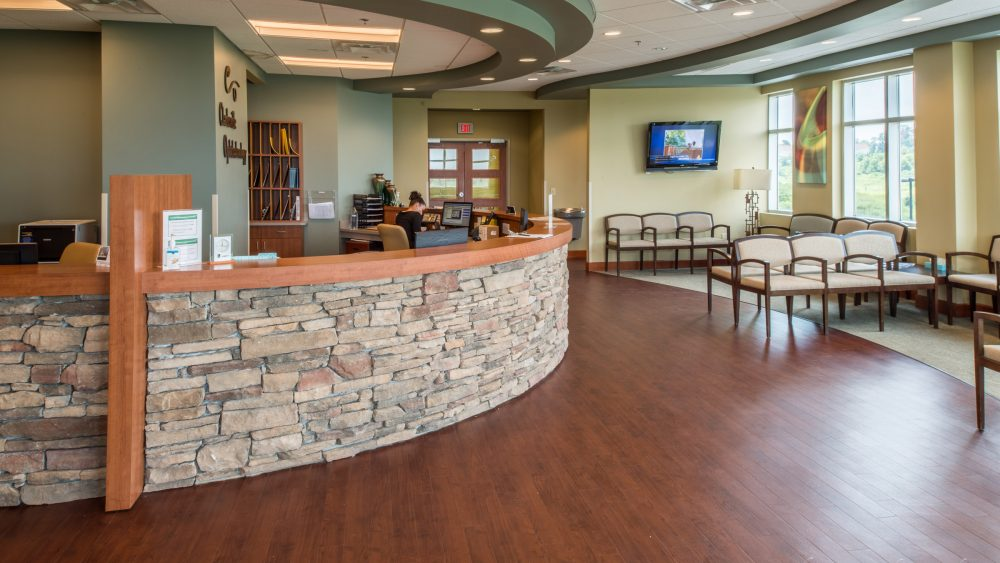 Clarksville Opthamology Center Patient Waiting Room, A Project by The Innovations Group