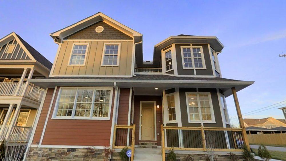 Street View of 1401 61st Street Home in Nashville, TN